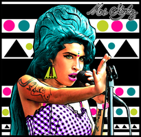 Vector I Done Of Amy Winehouse by MsDaijahStylez