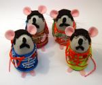 Beatles Mice by The-House-of-Mouse
