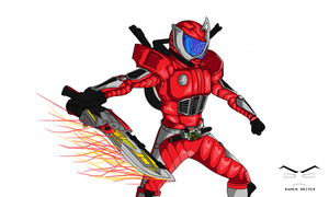 Kamen Rider Accel by RamenDriver