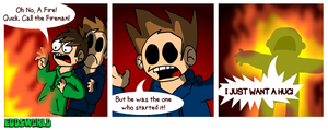 EWCOMIC95 - Fireman by eddsworld