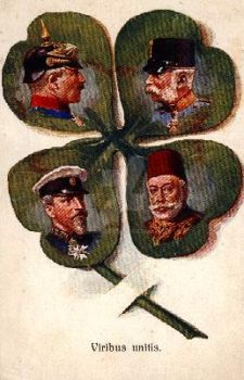 Vierbund on 4 leaf clover by julius1880