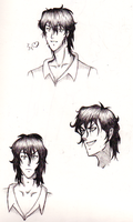 Tyki Mikk sketches by AlyssaFoxAH