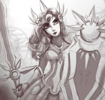 LoL- Leona by mythia20514