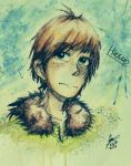 Hiccup coloured by pandalana