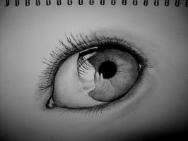 Charcoal Eye. by Duicane