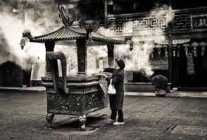 Smoke on the temple by Serdar-T