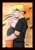 Narusaku: Warm in your arms by Celious