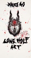 LONEWOLF ART by Bring-the-Pain40