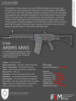 AR8R5 Sales Poster by SixthCircle