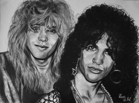 Stevie and Slash by Laura10June
