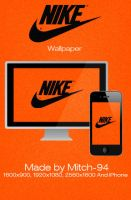 Nike wallpaper and iPhone by Mitch-94