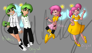 Fairly Odd Teens by Minkerdoodle