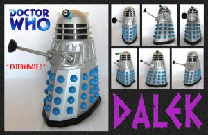 Doctor Who - Talking Dalek by mikedaws