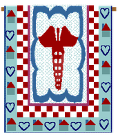 Country Folk Graphics | Healing Quilt by DanaHaynes