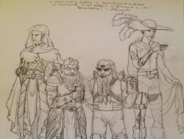 FR: A drow and a dwarf, a dwarf and a drow by ceres-de-rehka