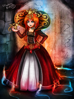 Contest: The Corrupted Queen by sthephanymel
