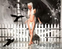Angel in Paradise by Hexe2008