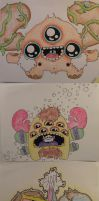 Woaah I drew monsters by loveandasandwich