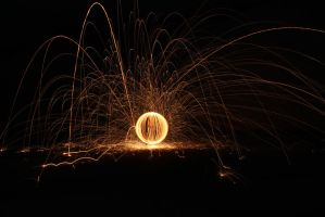 Light painting at Goomalling by Zelgadis55