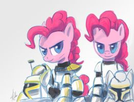 Pinkie clone troopers by Raikoh-illust