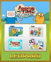 Leopard Adventure Time Folders by TMacAG