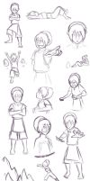 The Many Phases of Toph by Manatiini