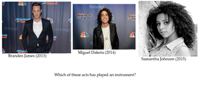 AGT Trivia Challenge 2nd Edition Question #12 by Amelia411