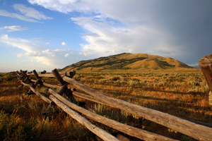 Wyoming Fence by YellowEleven
