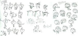 Jimmy Two Shoes Sketchdump 2 by Super-Cute