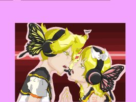 Rin and Len Kagamine- MaGnEt by darkzelda224