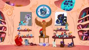 Poetess Subscriber Special: MLP Analyst Shrine by PersianPoetess
