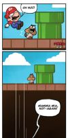 Mario's Horrible Secret by missqueenmob