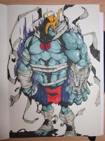 Finished Mumm-ra by MeaT-Artworx