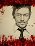 Daryl Dixon - The Walking Dead by Br0066