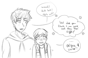 Jack frost and Jamie! by TheRainbowFlash
