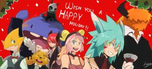 Wish you a happy holiday! by tunaniverse