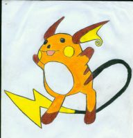 old raichu by XTorbenX