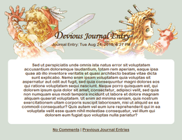 Legend of Mana Journal Skin by Hadeki