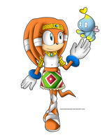 Tikal and Chao by AReluctant-Hero