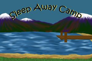 background for sleep away camp by kromogami18