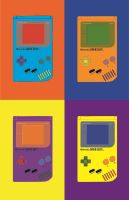 Original Gameboys-Colorful by e1ectricthunder