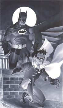 Batman and Robin by ChristopherStevens