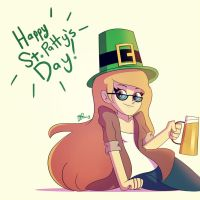 Happy (sorta late) St. Pattrick's Day! by GusDraws