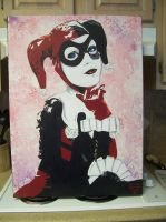 24x36 Harley Quinn by Yoshi-Productions