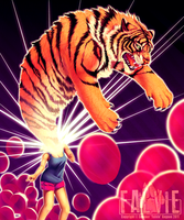 Let Your Tiger Out by falvie