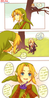 Zelda -- Can't keep a secret by onisuu