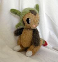 Comission: Jointed Chespin 2 by Naoru