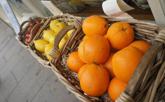 Oranges by 7ain
