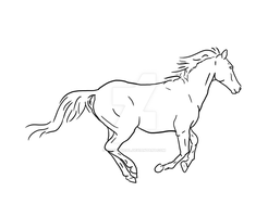 Kida's Brumby - not stock by equizotical
