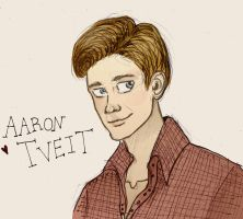 Aaron Tveit by xxIgnisxx